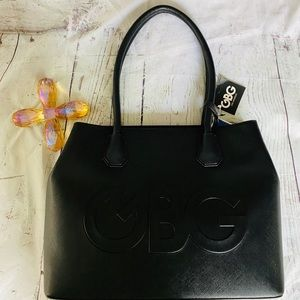 GBG G by Guess Black tote bag new